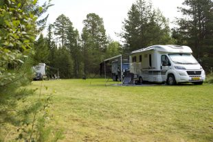 Mini camping in Zweden