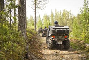 quad rijden in zweden