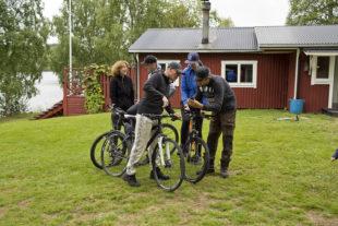 Actieve vakantie gezin Zweden