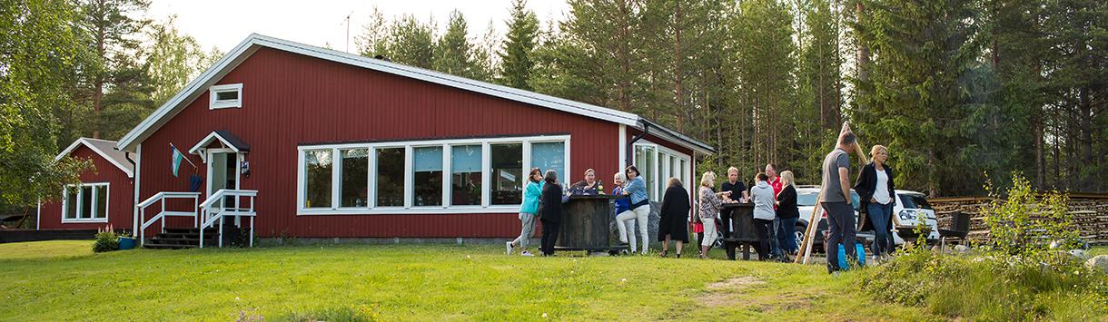 groepsaccommodatie in Zweden