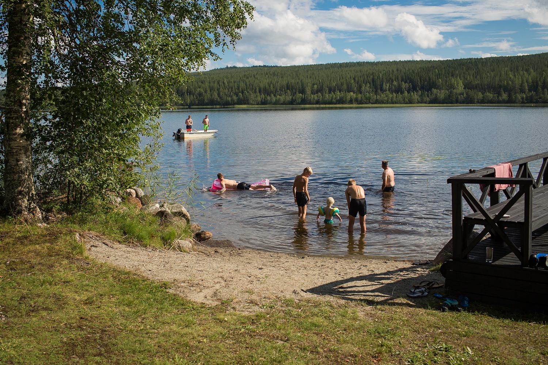 zomervakantie in Zweden