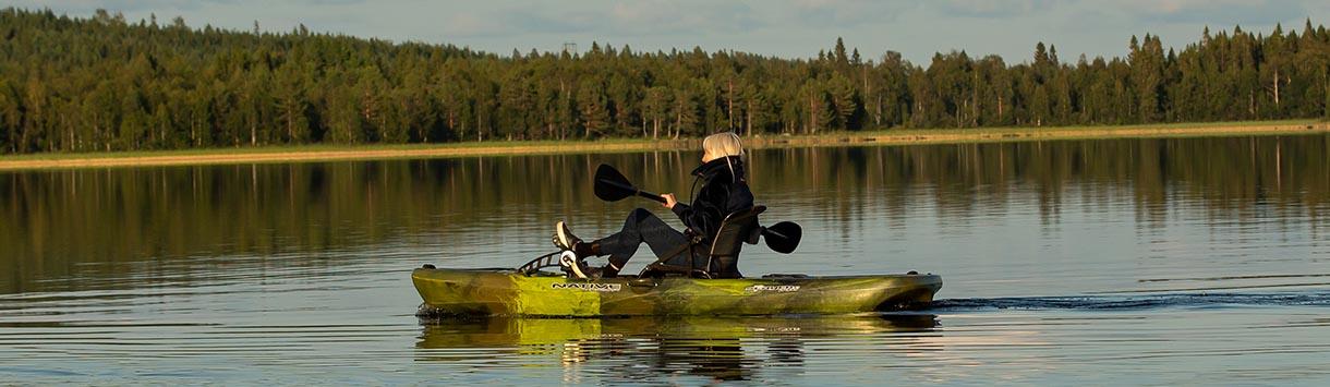 Kano varen op Gastsjön