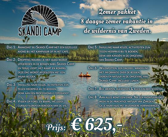 Zomer Skandi Camp Zweden